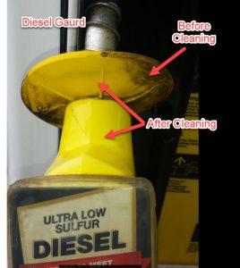 clean diesel pump
